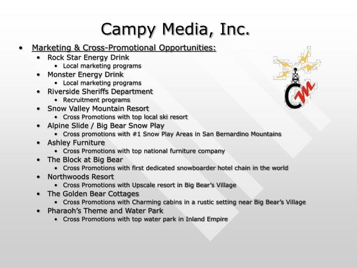 Campy Media, Inc.