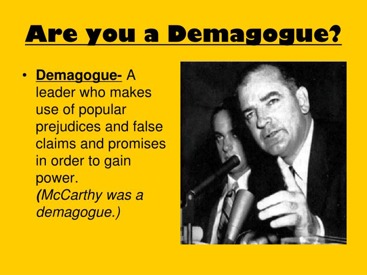 Demagogue-