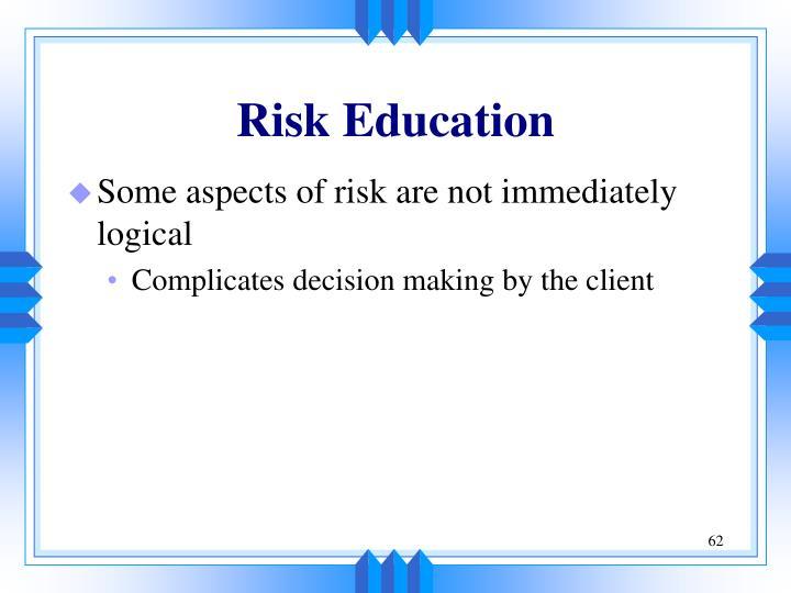 Risk Education