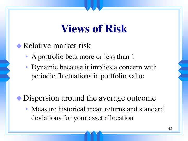 Views of Risk