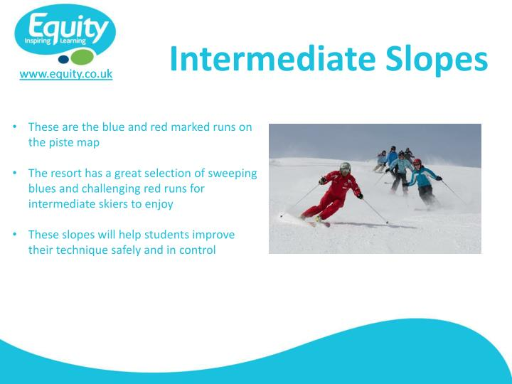 Intermediate Slopes