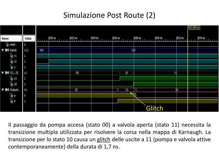 Simulazione Post Route (2)