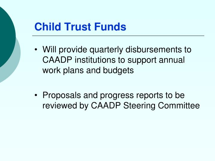 Child Trust Funds