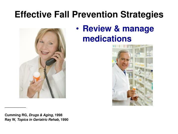 Review & manage medications