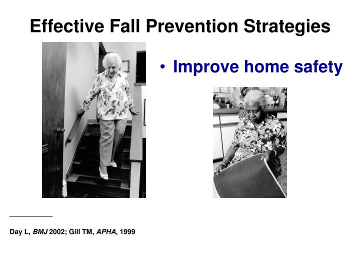 Effective Fall Prevention Strategies