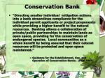 conservation bank