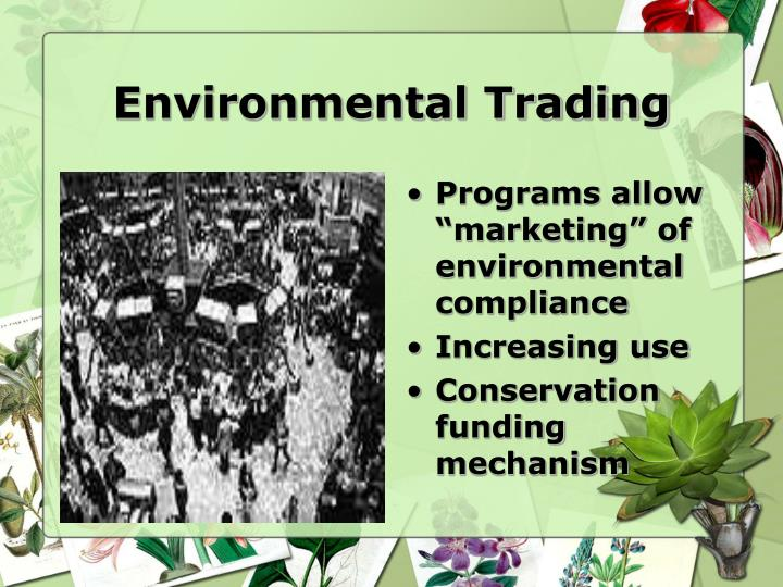 Environmental Trading