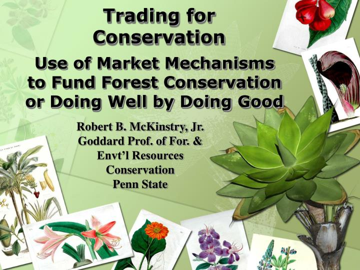 Trading for Conservation