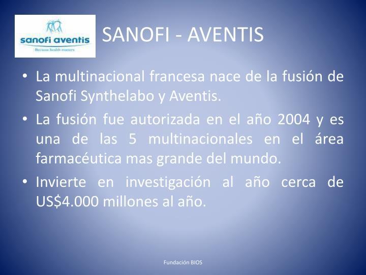 SANOFI - AVENTIS