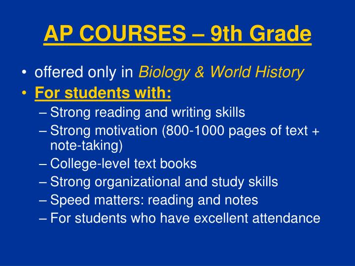 chapter 9 world history ap notes essay 2018-7-24 advanced placement world history (also known as ap world history, whap, ap world or apwh)  making for a total of 9 parts within the saq section.