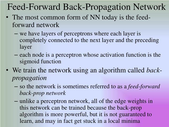 Feed-Forward Back-Propagation Network