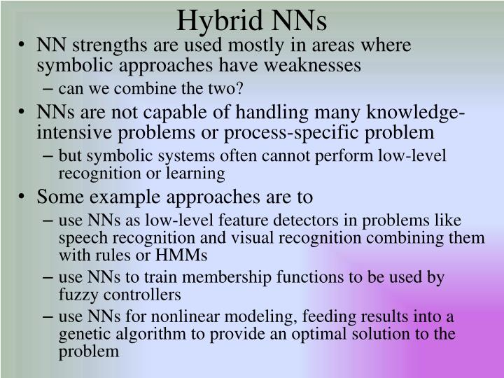 Hybrid NNs