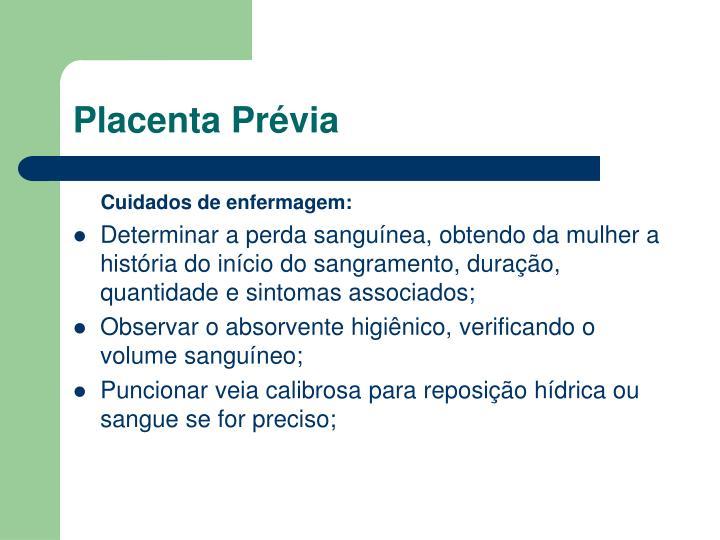Placenta Prévia