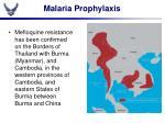 malaria prophylaxis5