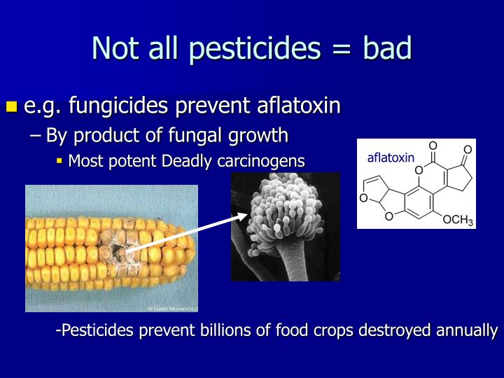 Not all pesticides = bad