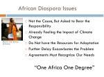 african diaspora issues
