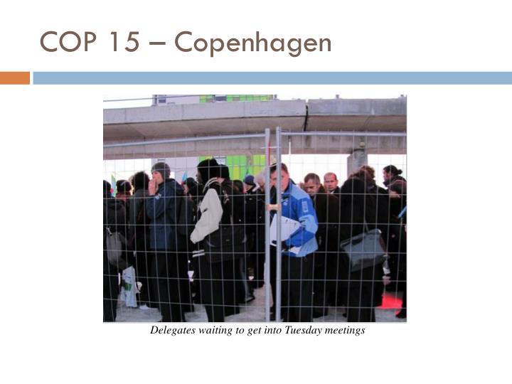 COP 15 – Copenhagen