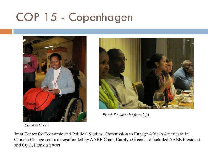 COP 15 - Copenhagen