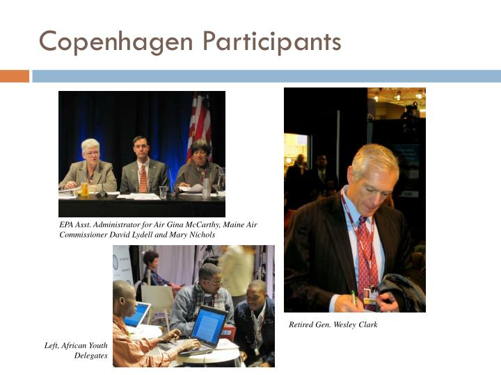 Copenhagen Participants