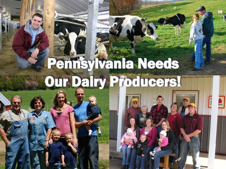 Pennsylvania Needs