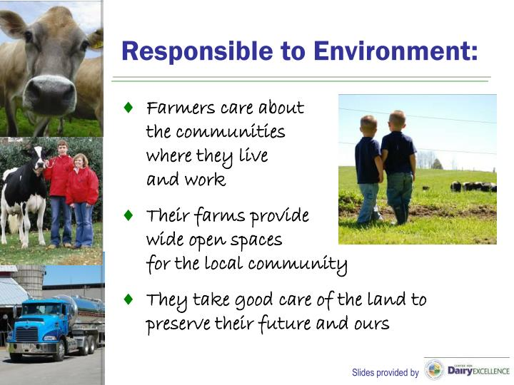 Responsible to Environment: