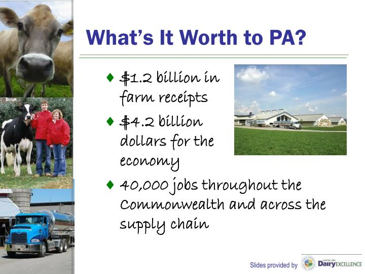 What's It Worth to PA?