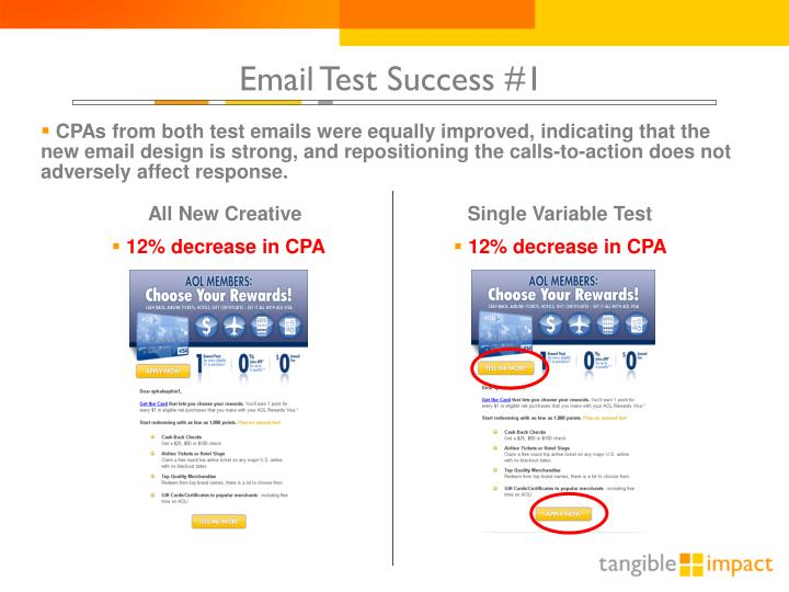 Email Test Success #1