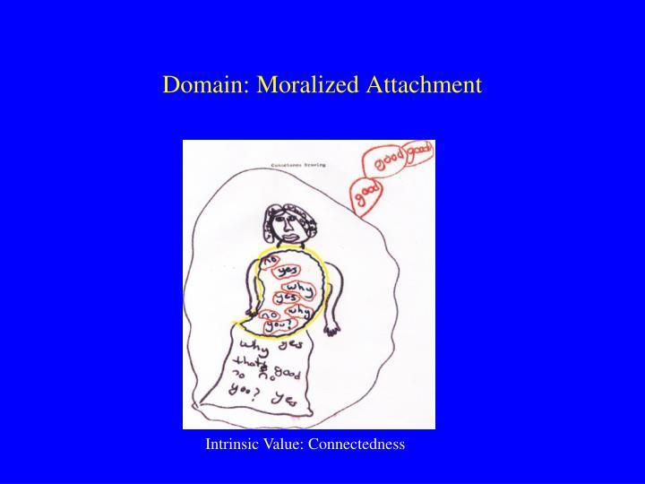 Domain: Moralized Attachment