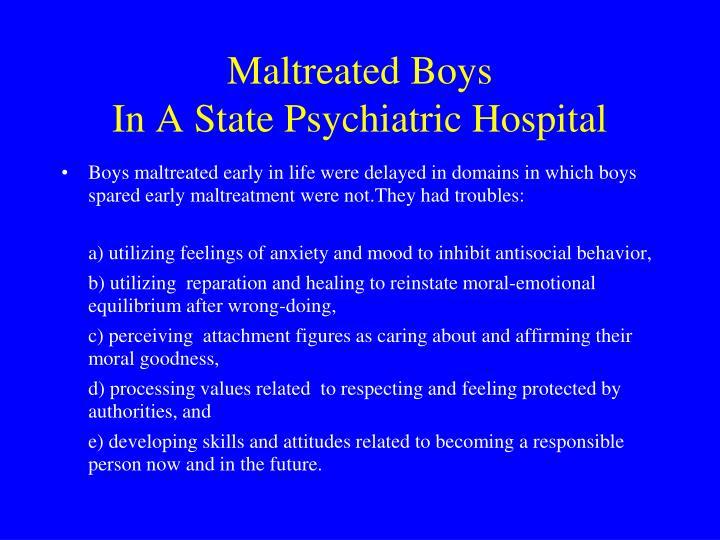Maltreated Boys