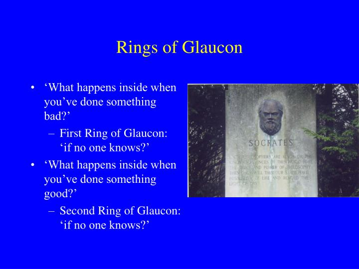 Rings of Glaucon