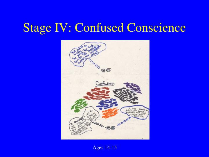 Stage IV: Confused Conscience
