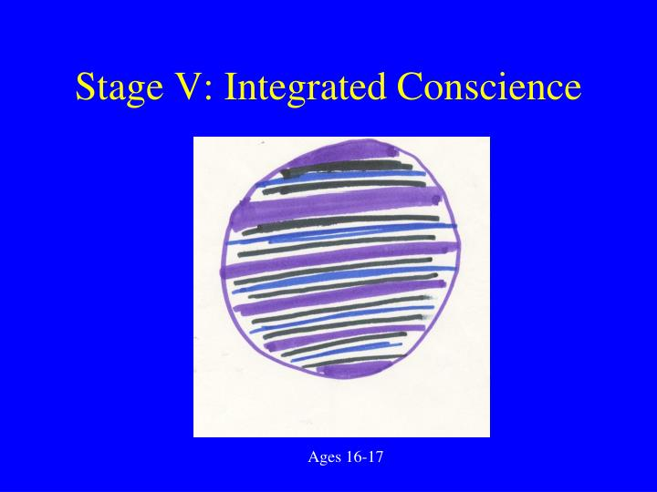 Stage V: Integrated Conscience