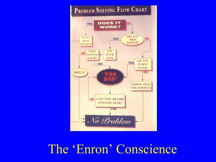 The 'Enron' Conscience