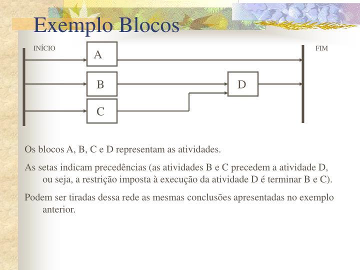 Exemplo Blocos