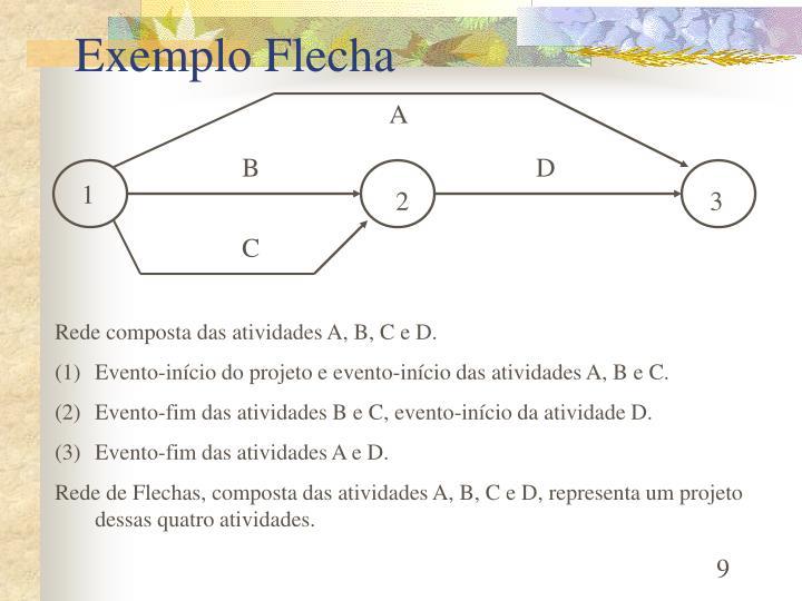 Exemplo Flecha