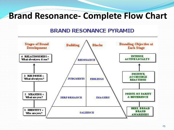 Brand Resonance- Complete Flow Chart