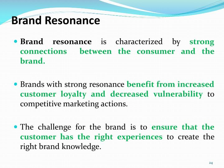 Brand Resonance