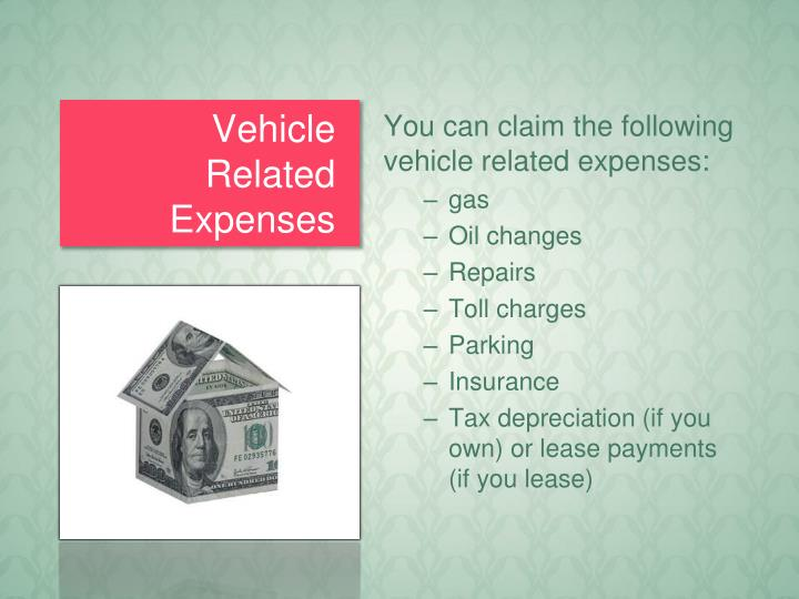 Vehicle related expenses