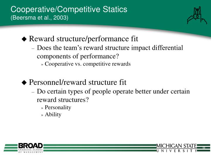 Cooperative/Competitive Statics