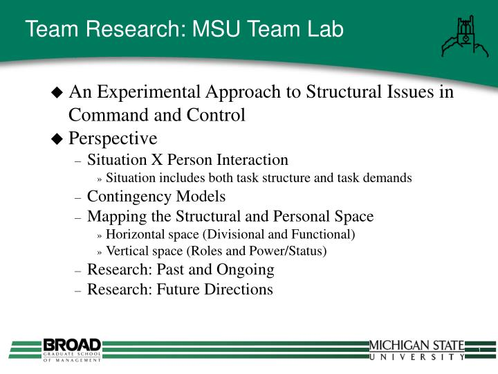 Team research msu team lab