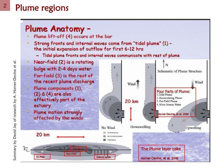 Plume regions