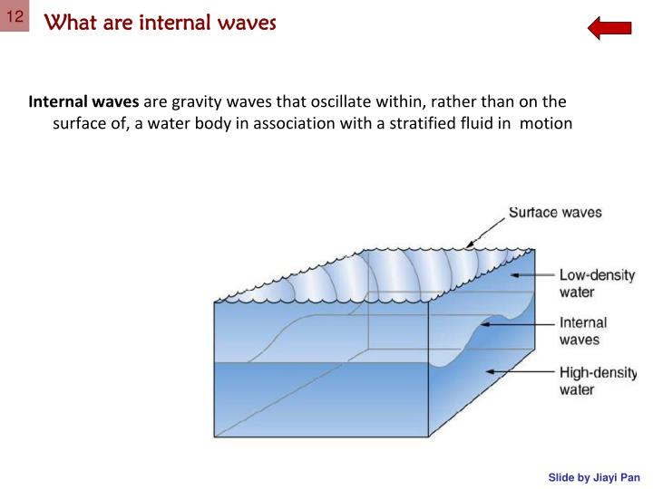 What are internal waves