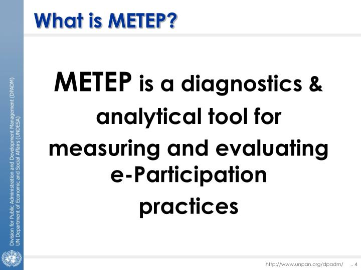 What is METEP?