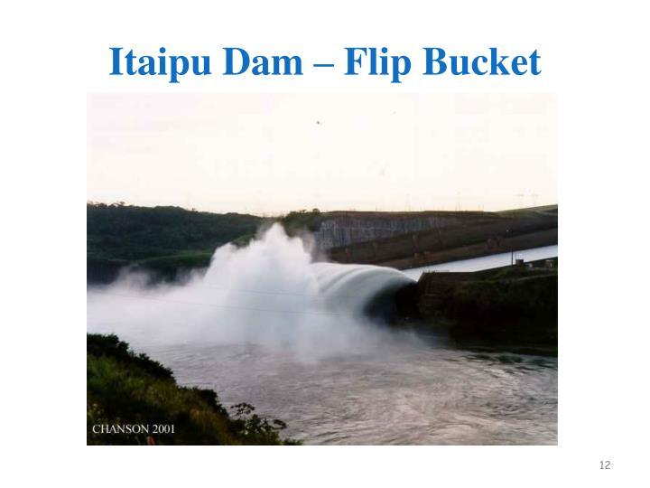 Itaipu Dam – Flip Bucket