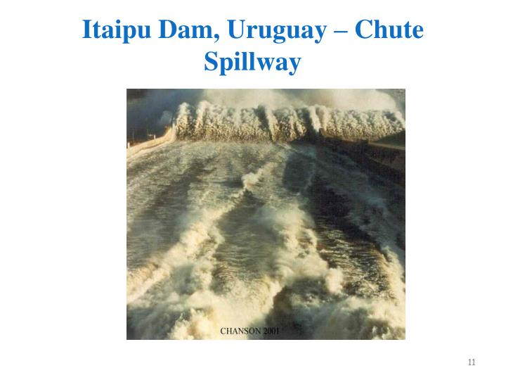 Itaipu Dam, Uruguay – Chute Spillway