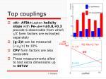 top couplings
