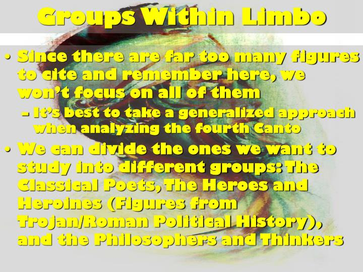Groups Within Limbo