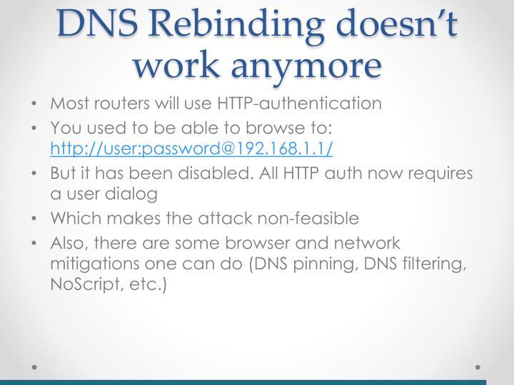 DNS Rebinding