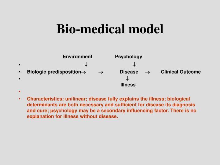 Bio-medical model