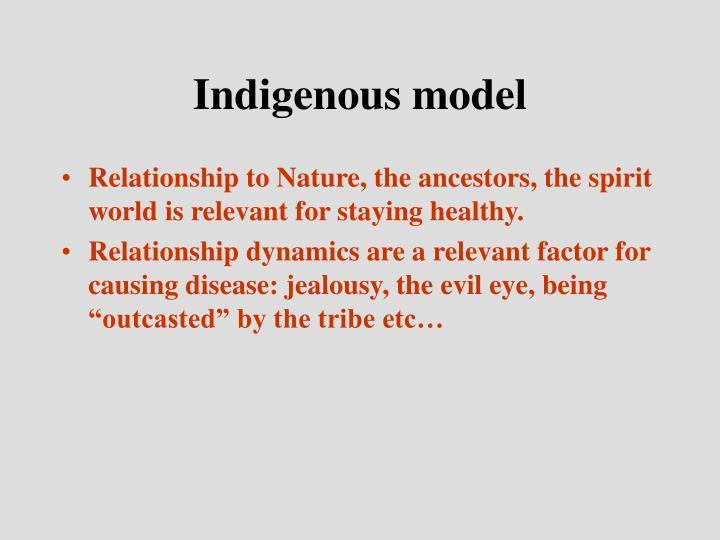 Indigenous model